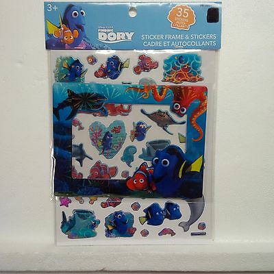 Finding Dori Sticker Frame and Stickers