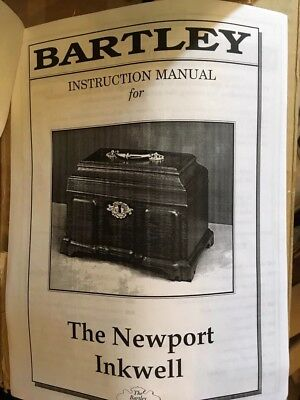 The Bartley Collection Newport inkwell