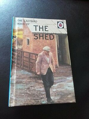 **the Ladybird Book Of The Shed - Very Funny Book - As New**