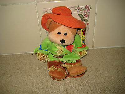 Beanie Kids-Smarty The Scarecrow Bear-New With Tags