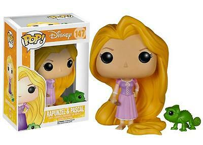 """New Pop Disney: Tangled - Rapunzel And Pascal 3.75"""" Funko Vinyl COLLECTIBLE"""