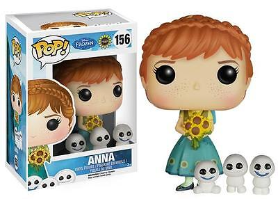"New Pop Disney: Frozen Fever - Anna 3.75"" Funko Vinyl VAULTED"
