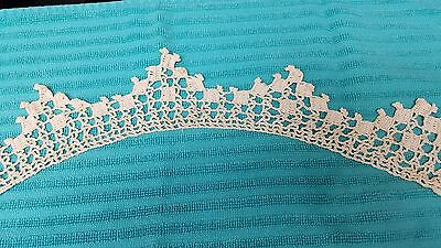 Antique Vintage Lace Hand Made