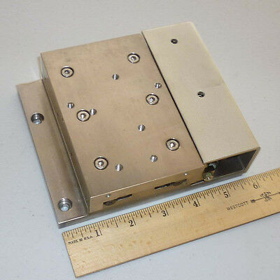 STAR Linear Systems Precision Crossed Roller Bearing Pneumatic Linear Stage, NEW