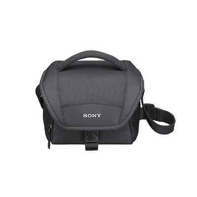 New Sony Lcsu11 Soft Carrying Camera Case ( Black)