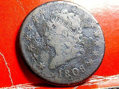 1808 Classic Head Early Copper Large Cent