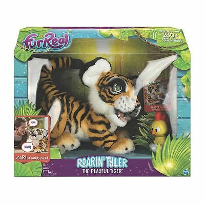 NEW FurReal Roarin' Tyler The Playful Tiger Tiger pet responds to sounds.