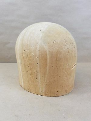 Vintage Midwest H.B. & D. Co. Millinery Hat Mold Stamp: 796 sz 22 1/2 Wood Block