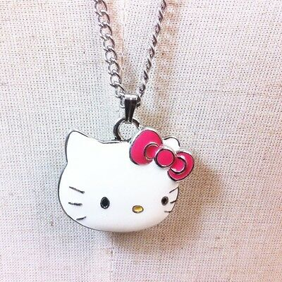 Sanrio Hello Kitty Pendant Long Necklace Girls Kids Women's Gift Brand New