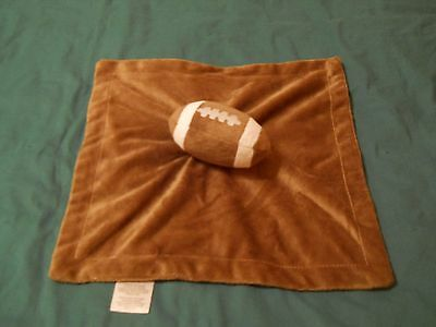 Koala Baby brown fleece football security blanket 100% polyester