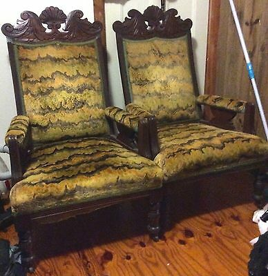Arm Chairs  - Antique (Two only)