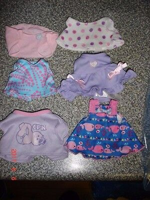 cabbage patch dolls clothing lot 2