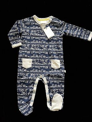MARQUISE Cityscape Footed Baby Jumpsuit, (Size 00) BRAND NEW!!