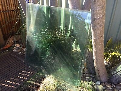4 x Glass Panels For Pool Fence 1300x1200. 12mm Thick