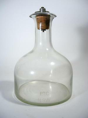 Vintage Retro Nsw Ptc Railway Train Carriage Water Carafe