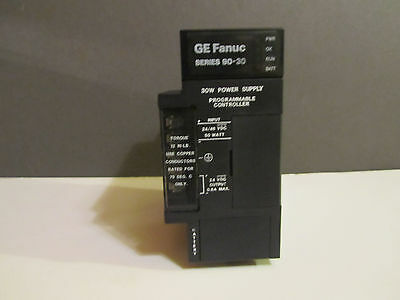 GE FANUC 90-30 IC693PWR322E Power Supply