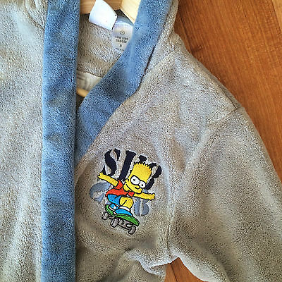 CHILDREN'S SIMPSON BATHROBE (size 8) rrp $50+