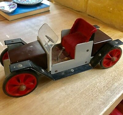 Antique Hand Made Toy Car. T Model