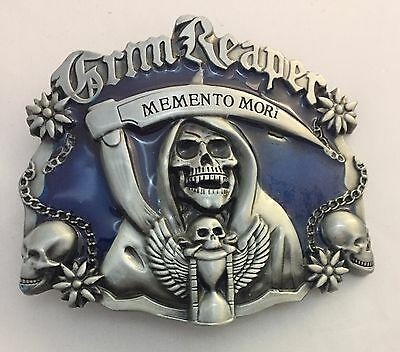 The Grim Reaper Belt Buckle Metal Mens Jeans For Leather Belt Sons of Anarchy