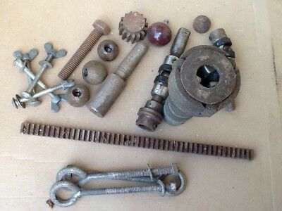Assorted Vintage Mixed Engineering, Machinery Parts, Woodworking Parts See Pics