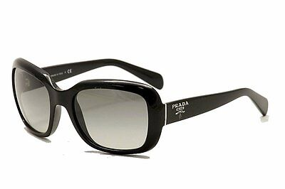 Genuine PRADA SPR17P Sunglasses Replacement Lenses - Gradient Grey Polycarb