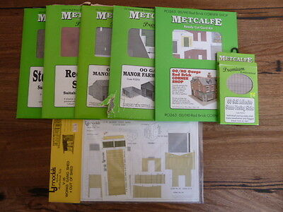 OO Scale Metcalfe Card Kits and Building Papers