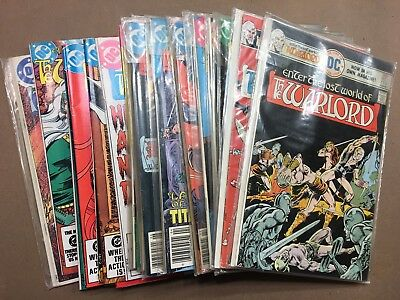 Dc Comics Bronze Age Lot Of Warlord Enter The Lost World 34 Comic Book Lot Vf
