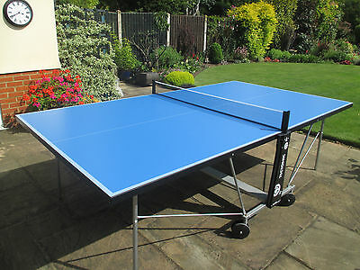 Slazenger Indoor Outdoor Foldable Table Tennis Table From