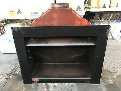 Wood Fireplace Jetmaster Universal 700