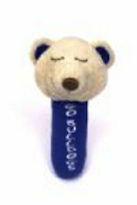 Western Bulldogs AFL Plush Soft Baby Nursery Rattle * Soft AFL Toy