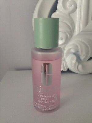 Clinique clarifying lotion 3 for combination oily skin 100ml
