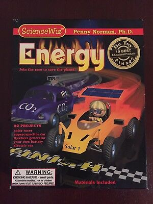 Science Wiz - EnergyExperiment Kit - Penny Norman Ph.D. 'NEW & UNOPENED'