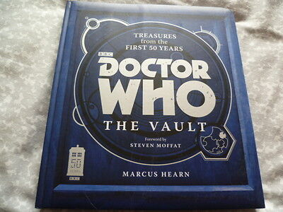 ** Doctor Who - THE VAULT - huge hardback book in EXCELLENT condition **