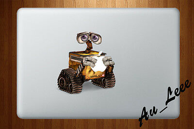 MacBook Sticker Apple Logo Vinyl Decal Wall Pro Retina Air Cartoon Robot cmac165