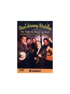 The Nashville Bluegrass Band Vocal Harmony Workshop Learn Sing Voice MUSIC DVD