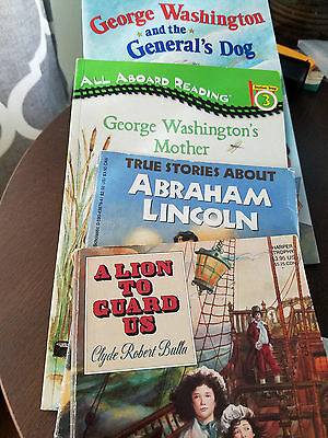 Children's American history Story books, Lot of 4, FREE SHIPPING!!!