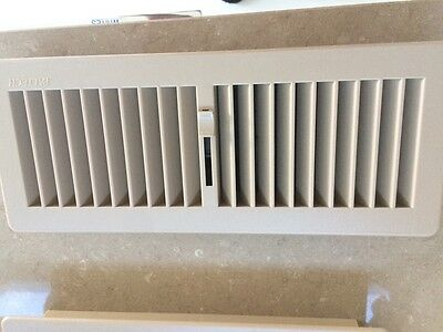 3 coffee  Floor  Register Vent Cover Ducted Heating 300x 100 vents