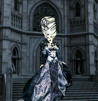Haunting Queen Marie Antoinette Gothic Dark Goth ~ Barbie doll OOAK Dakotas Song