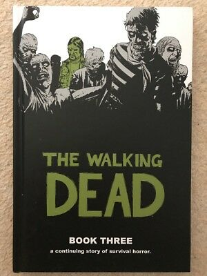 THE WALKING DEAD BOOK 3 hardcover Ex Condition