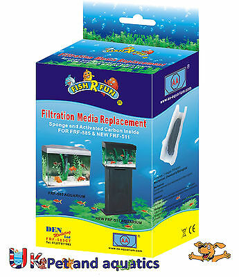 Fish R Fun, FRF-585CT Spare filter media for FRF-585, New FRF-511