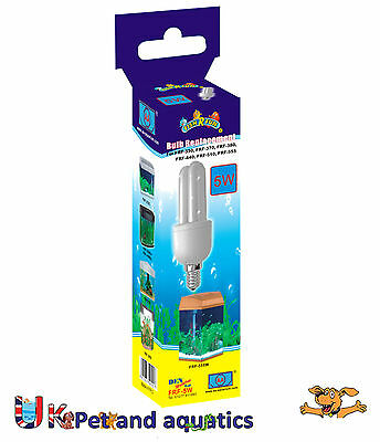 Fish R Fun, 5 Watt Energy Replacement Spare Bulb, FRF-5W