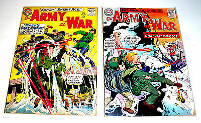 SGT ROCK in OUR ARMY AT WAR #153 and #154  OLD SCHOOL DC WAR COMICS