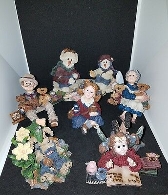Lot of 6 Boyds bears and friends the wee folkstone collection
