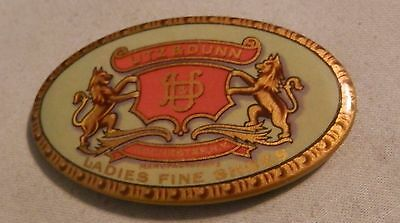 Vintage Utz & Dunn Ladies Shoes NY  local advertising pocket paperweight mirror