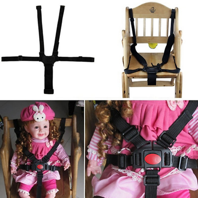 5 Point Baby Kids Harness Seat Belt Strap For Stroller High Chair Pram Buggy 1PC