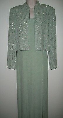 NWOT Alex Evenings 8P (Petite) Mother of the Bride/Groom Dress & Jacket, Cruise