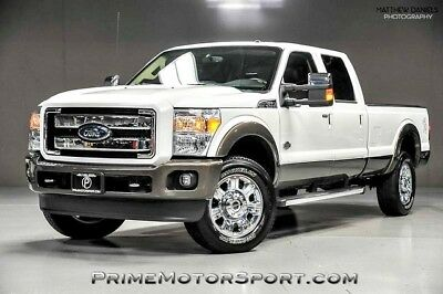 2016 Ford F-350  2016 FORD F-350 KING RANCH SRW 6.7L POWER STROKE DIESEL LOADED NAVIGATION MORE
