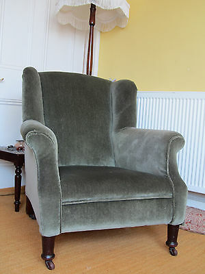 Armchairs Antique Victorian - Pair of Lady and Gentleman Chairs  REDUCED