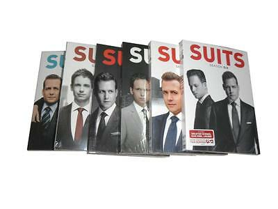 Suits: The Complete Seasons 1-6 (DVD, 2017, 24-Disc Set) 1 2 3 4 5 6