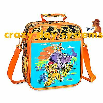 NEW Disney Store Lion Guard School Lunch Box Tote Insulated Bag Lunch Pail